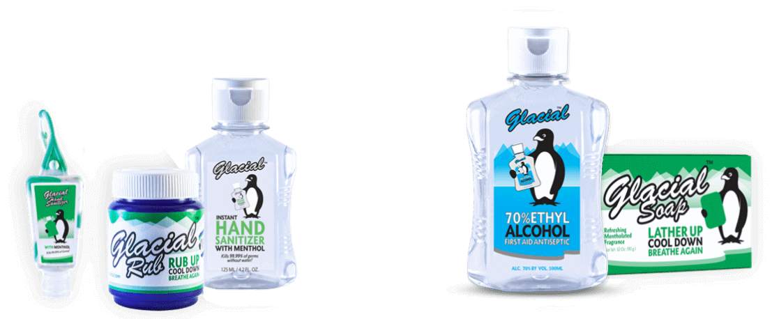 Glacial Hand Sanitizer